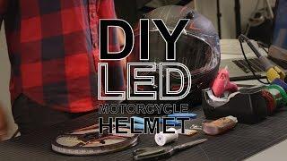 DIY LED Motorcycle Helmet