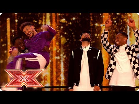 Rak-Su take on Grace Davies in the Prize Fight | Live Shows | The X Factor 2017