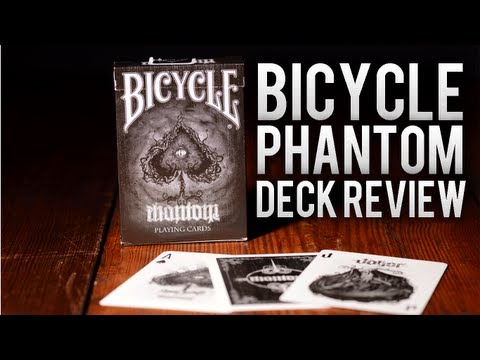 Deck Review - Bicycle Phantom Deck Playing Cards By Martin Adams