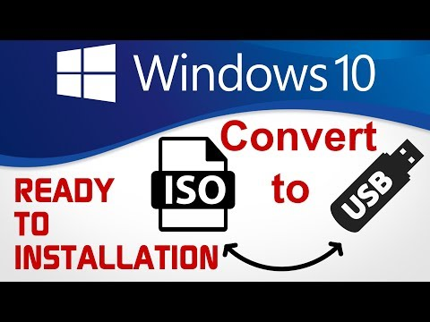 Convert Windows 10 ISO To USB (PinDrive) Ready To Installation