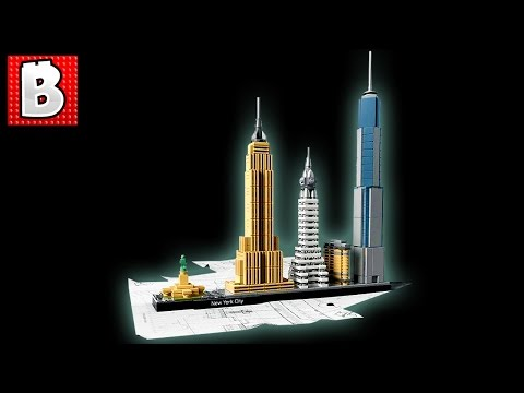 Lego Architecture New York City Set 21028 | Unbox Build Time Lapse Review