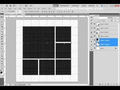 Create and Modify Grids In Photoshop CS5
