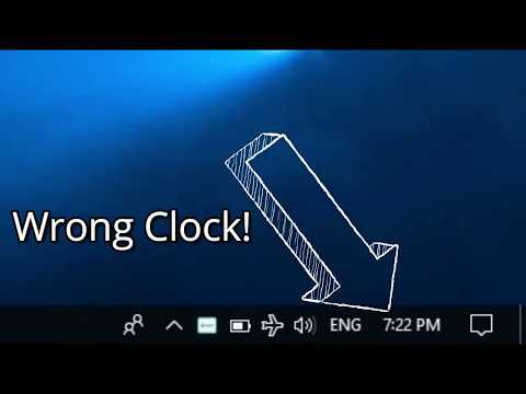 [SOLVED] Wrong clock in Windows 10
