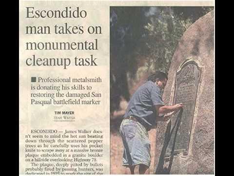 Restoring Bronze Memorial Plaques