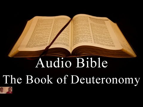 The Book of Deuteronomy - NIV Audio Holy Bible - High Quality and Best Speed - Book 5
