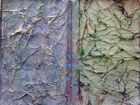 Mixed Media Morsel 5-Tissue Paper Background