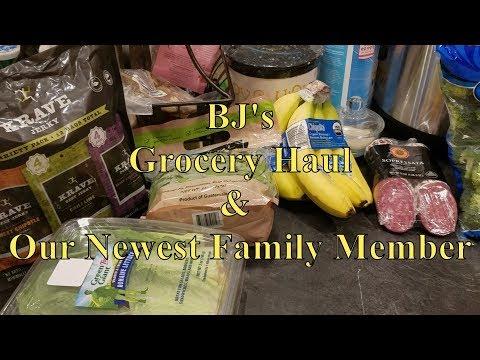 BJ's Grocery Haul 01-30-18