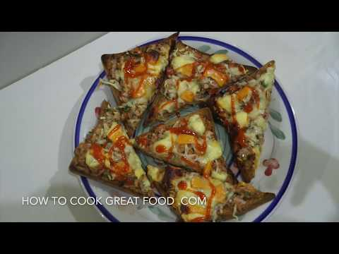 Tuna Melt Open Top Grilled Cheese Recipe Sandwich