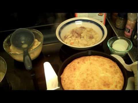 Aunt Duddie Makes Yankee Cornbread