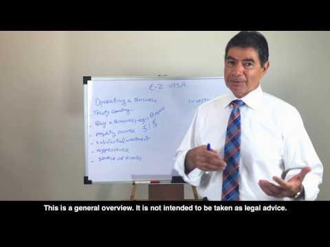 E2 Visa Lawyer: 6 keys to E2 Investment Visa for Entrepreneurs