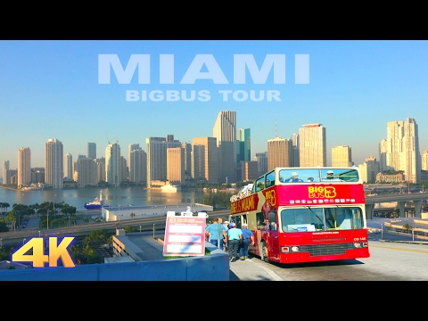 MIAMI [4K] - BIGBUS HOP ON, HOP OFF TOUR