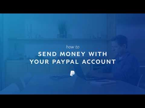 How to Send Money with PayPal Online