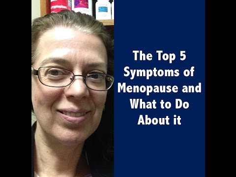 The Top Five Symptoms of Menopause