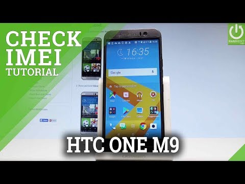 HTC One M9 CHECK IMEI / IMEI Information / Status Info