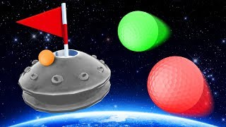 HOLE IN ONE UFO COURSE! - Golf it