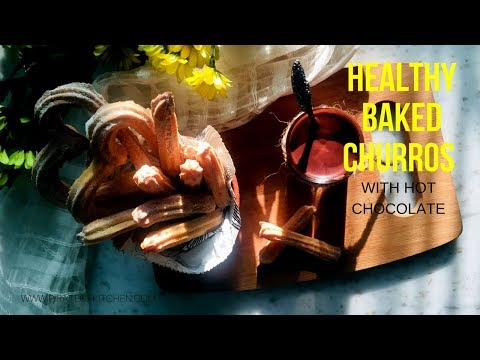 Healthy Baked Churros | Baked Churros recipes | Homemade Churros Recipe | Pirate Of Kitchen