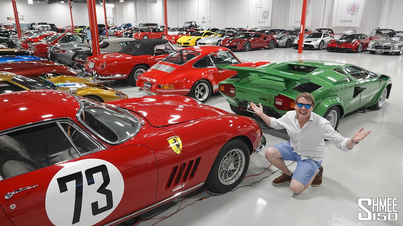 The World's MOST INCREDIBLE Car Storage Display!
