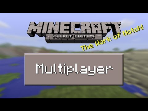 How to Join a Server in Minecraft PE (MCPE / Pocket Edition)