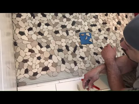 Pebble Tile Installation