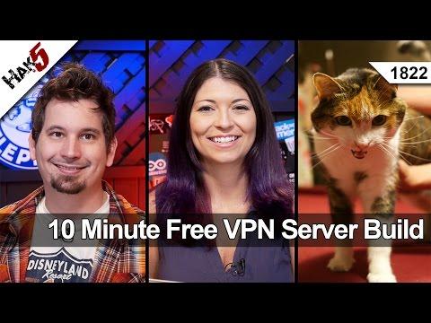 10 Minute Free VPN Server Build, Hak5 1822