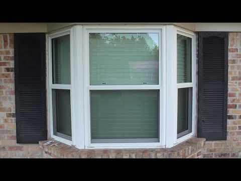 Hurricane Shutters / Storm Panels - Bay Window shutters.  How to make them.