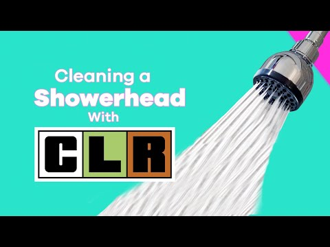 Cleaning a Showerhead with CLR