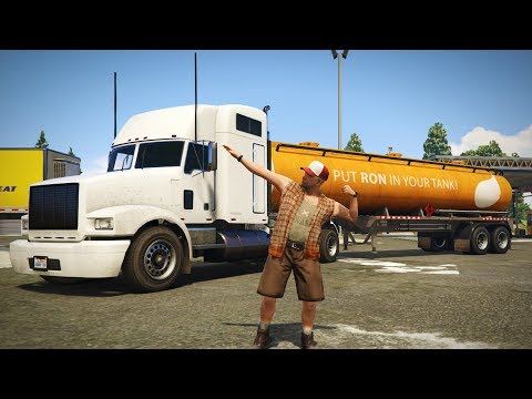 GTA 5 - TRUCKER ROLEPLAY! Realistic Trucking & Delivery! (GTA 5 PC Mods)
