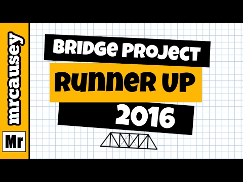 Mr. Causey's Physics Class Bridge Contest 2016