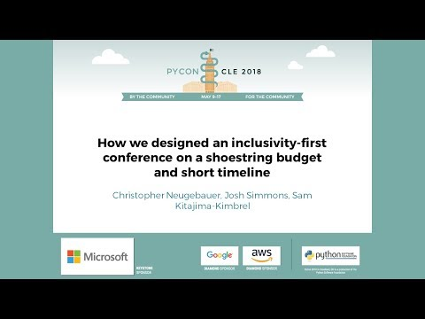 How we designed an inclusivity-first conference on a shoestring budget and short timeline