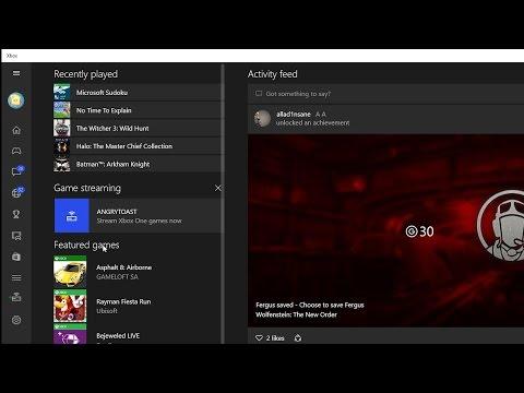 Walkthrough: Stream Xbox One games to your Windows 10 PC