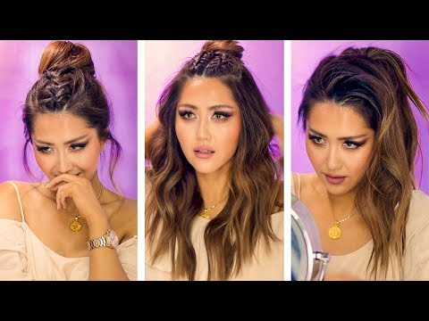 ★ POPULAR INSTAGRAM HAIRSTYLES for EVERYDAY with PUFF 💜  EASY BRAIDS & UPDOS for Long 💜 Medium HAIR