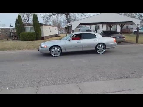 2001 Lincoln Continental Night Running Video Download