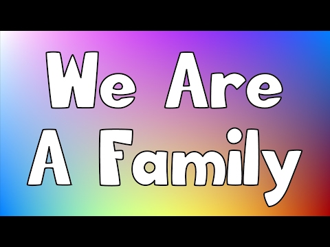 We Are A Family   Jack Hartmann