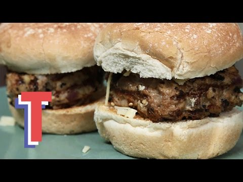 Pork And Apple Burgers | The Tasty Tenner Challenge (part 1)