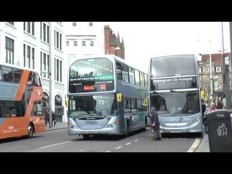 NOTTINGHAM BUS DRIVER'S QUICK REACTION PREVENTS ACCIDENT  APRIL 2018