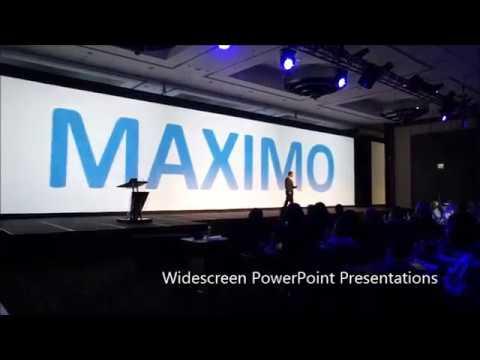 IBM Maximo Widescreen Powerpoint Presentation