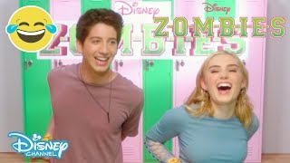 Z-O-M-B-I-E-S | Brain Food Challenge 🧠🍽 | Disney Channel UK