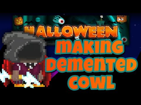 Making Demented Cowl ( Halloween 2017) | Growtopia