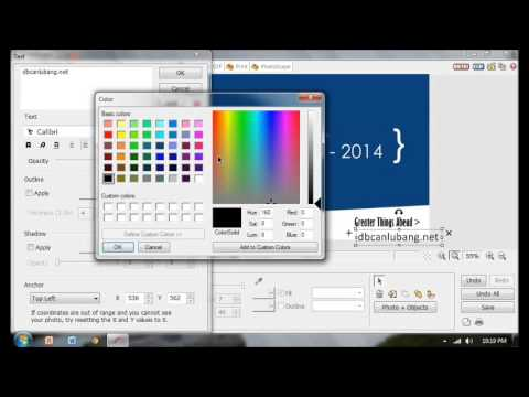 How to create a creative banner in 5 minutes using Photoscape
