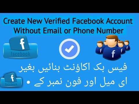 How to Create New Facebook verified Account Without Your Phone Number and Email Address