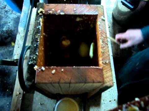 Cider making at Kaka Point NZ 2011