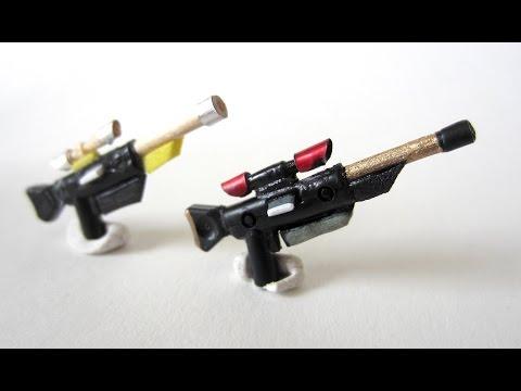 How To Make - Custom LEGO:  Star Wars Clone Sniper Rifle