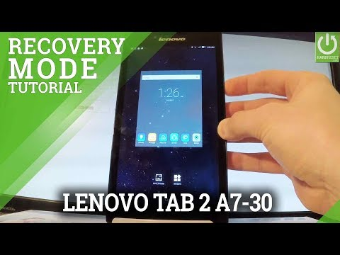 Recovery Mode in LENOVO Tab 2 A7-30 - Enter / Quit Recovery