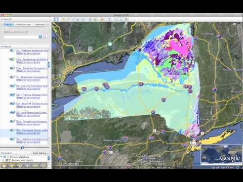 Google Earth Profile + Geologic Mapping