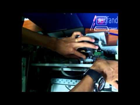 troubleshoot roller patah [part2]copot bagian roller Printer Canon MP145