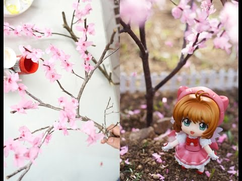 DIY - How to Make Miniature Cherry Blossom Tree