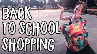 Back To School Shopping!- Follow Me Around!