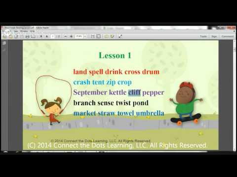 Third Grade Reading Lesson 1- Expert Tutors in Fullerton