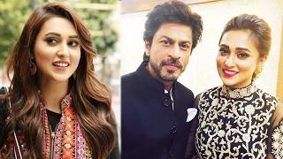 Mimi and Shah Rukh Khan   2016 Kolkata International Film Festival