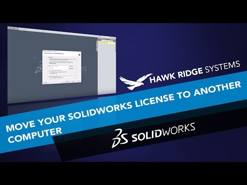 How to Move Your SOLIDWORKS License to Another Computer